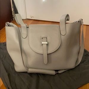 Meli melo - Thela medium tote bag - taupe